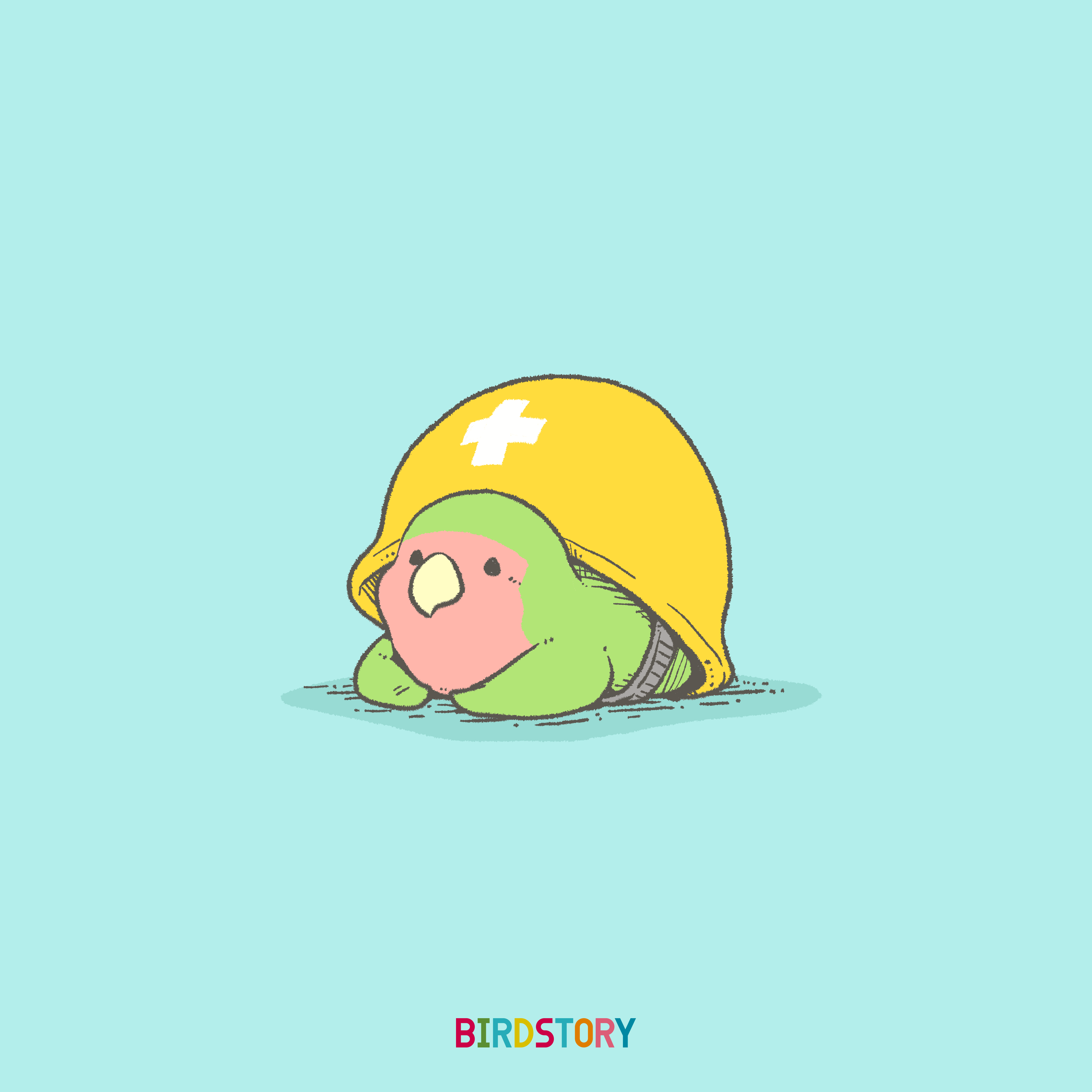 防災の日 週間 避難グッズ ヘルメット BIRDSTORY