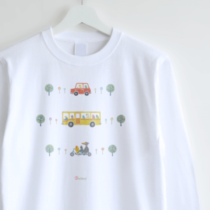 長袖Tシャツ(Go Go Bird!)