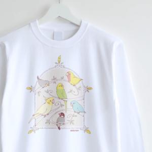 長袖Tシャツ(GREEN BIRD)