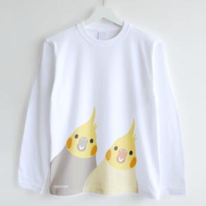 長袖Tシャツ(SMILE BIRD / オカメインコ)