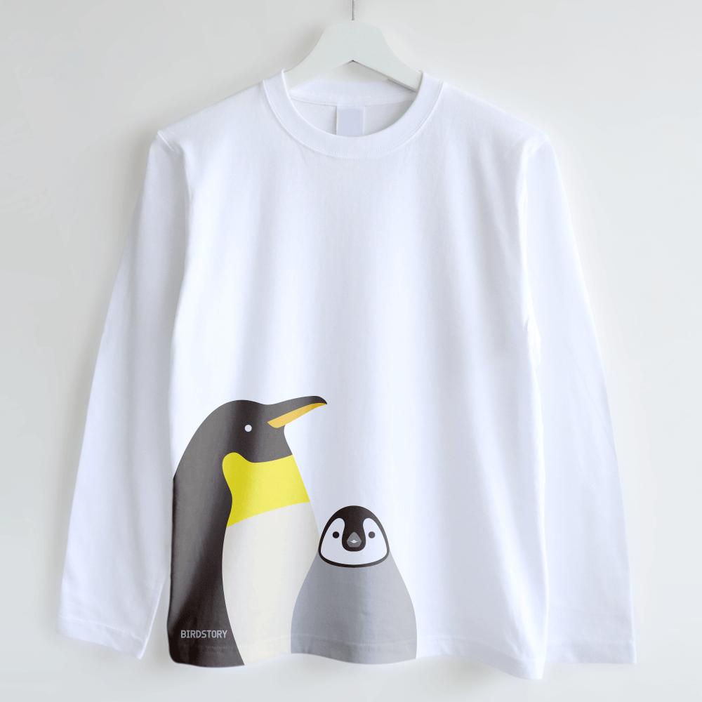 長袖Tシャツ(SMILE BIRD / ペンギン)