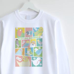 長袖Tシャツ(TORI NO SHIGUSA / コミック / カラー)