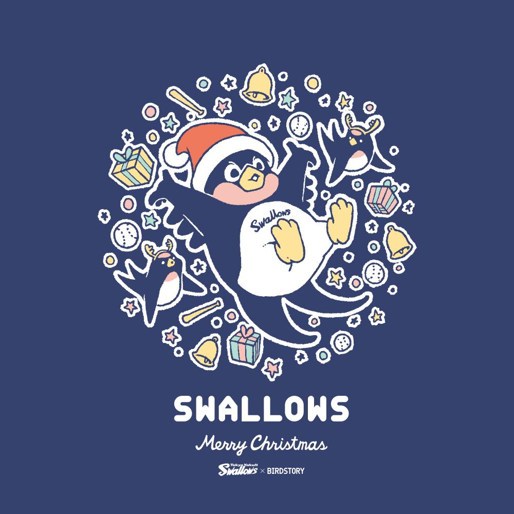 東京ヤクルトスワローズ つば九郎 クリスマス BIRDSTORY バードストーリー