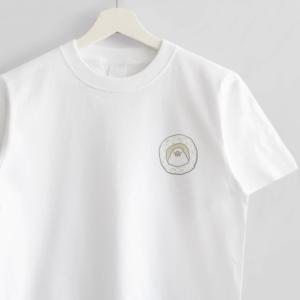 イラストレーター amycco. オシャレコーデ文鳥Tシャツ