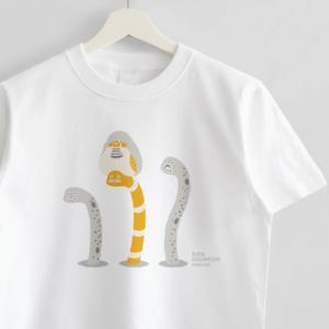 チンアナゴ ニシキアナゴ キンカチョウ Tシャツ