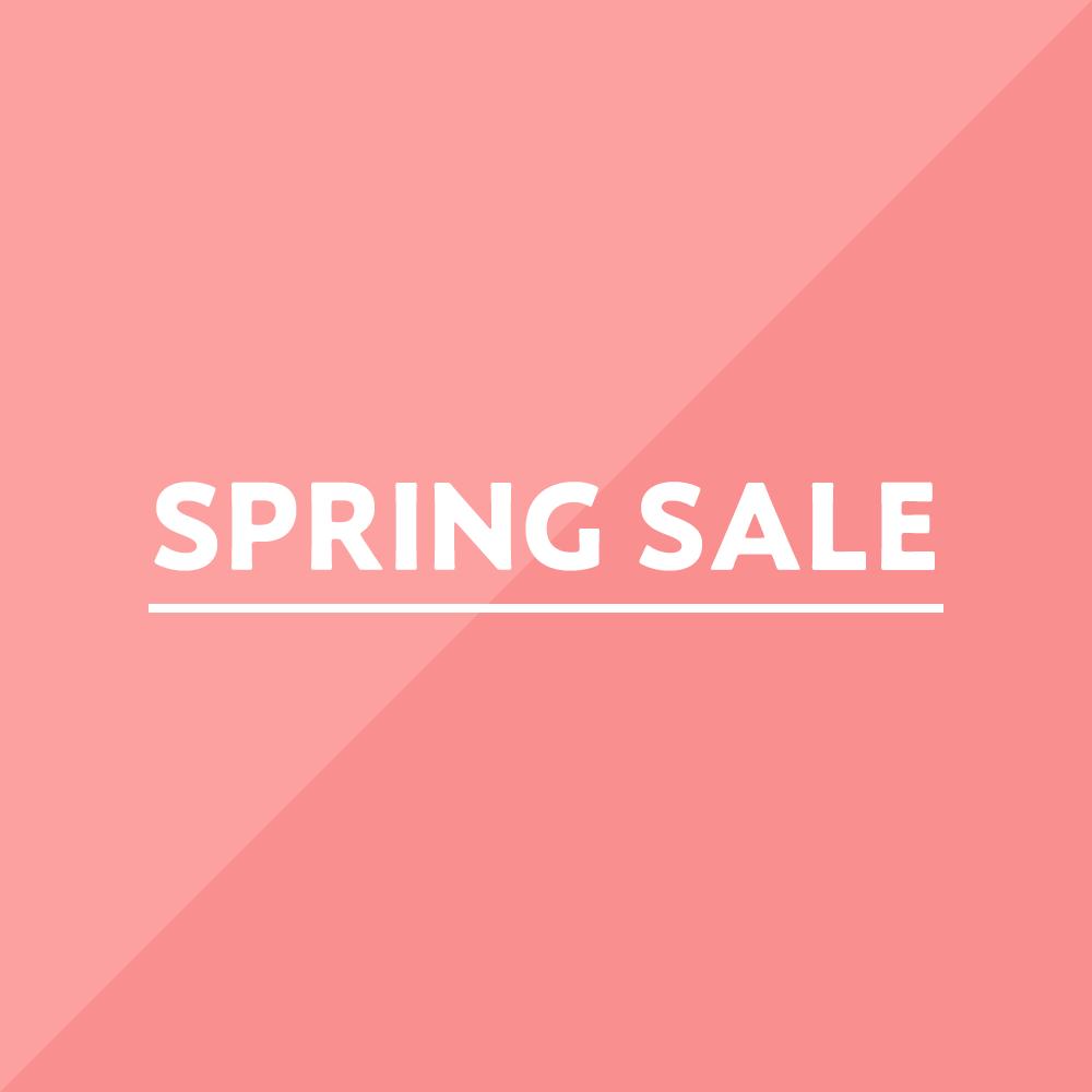 スプリング春のセール SPRING SALE