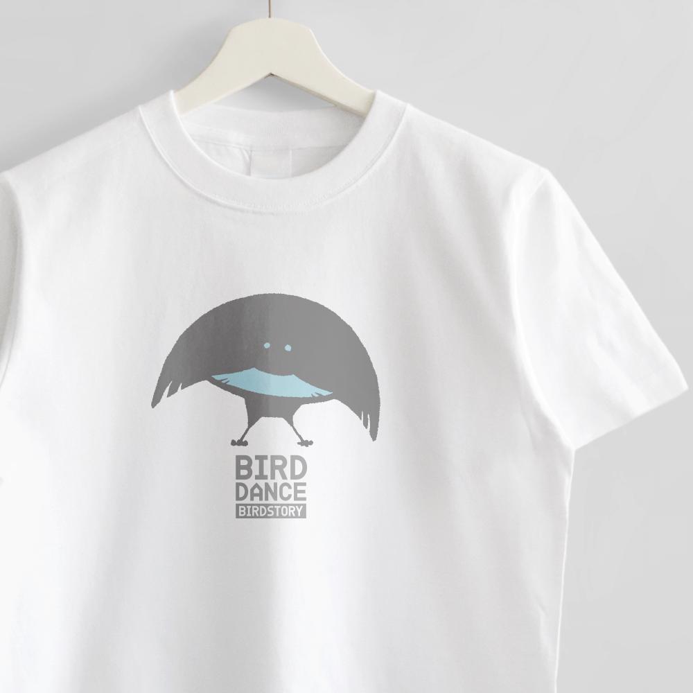 Tシャツデザイン BIRD DANCE フォーゲルコップカタカケフウチョウ