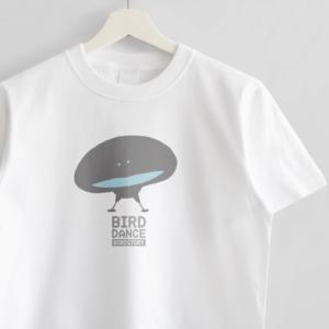 Tシャツデザイン BIRD DANCE オオカタカケフウチョウ