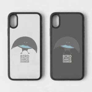 フォーゲルコップカタカケフウチョウ BIRDDANCE iPhone スマホケース