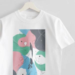 Tシャツ(オクムラミチヨ / soda birds)