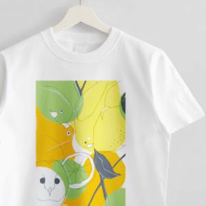 Tシャツ(オクムラミチヨ / citrus birds)