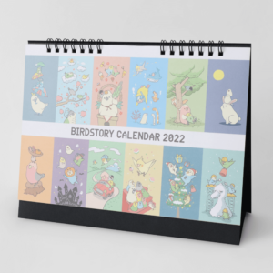 BIRDSTORY 2022年卓上カレンダー