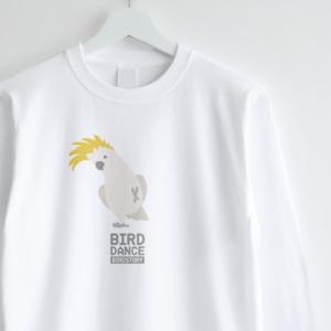 ロングTシャツデザイン BIRD DANCE キバタン