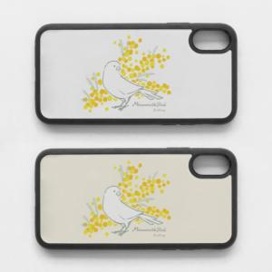 スマホケース ミモザとカナリア Mimosa