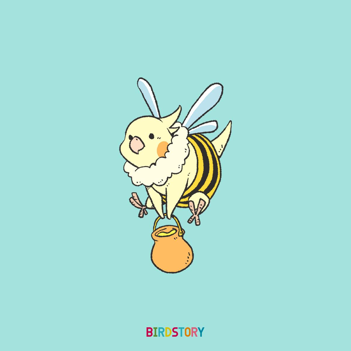 はちみつの日 ミツバチコスプレ