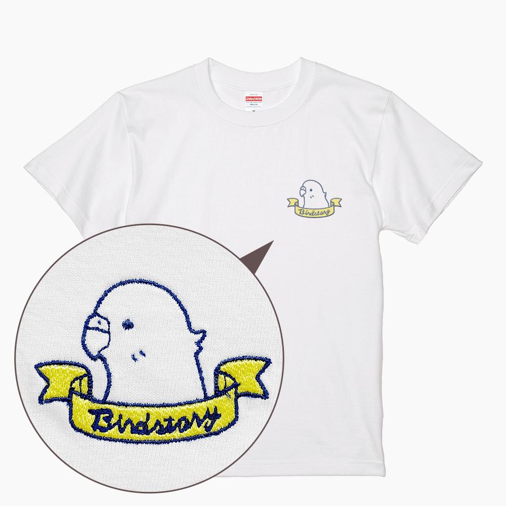 ティーシャツ セキセイインコ